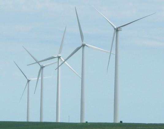 Windturbinefield
