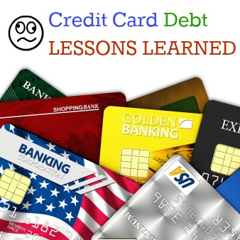 credit card debt lessons