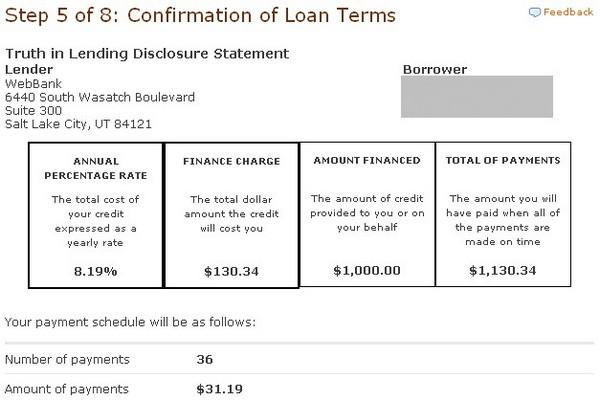 LendingClubLoanTermsConfirmations