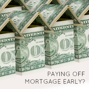 paying off your mortgage
