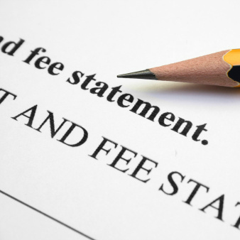 fee statement