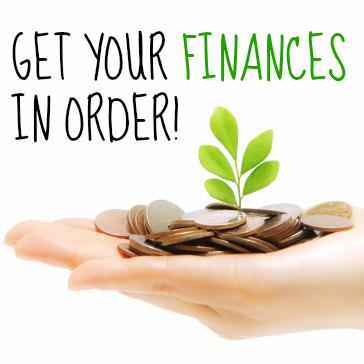 finances in order