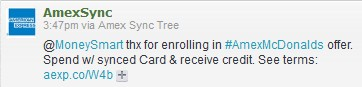 American Express Twitter Deal