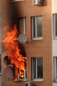 Apartment Fire without Insurance
