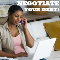 negotiate debt