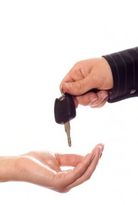 buying a used rental car