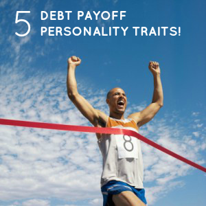 debt payoff personality traits