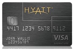 Chase Hyatt Visa Credit Card