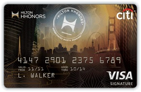 The Citi Hilton HHonors Visa Signature Card