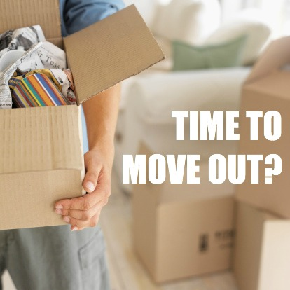 move out parents home