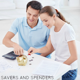 saver and spender