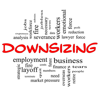 Downsizing after Layoff