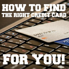 right credit card