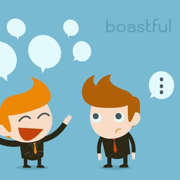 boastful