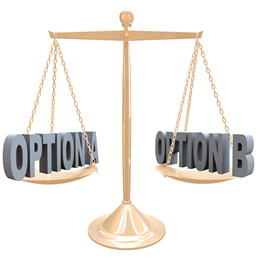 Weigh Your Options
